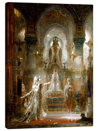 Canvastavla  Salome dancing before Herod - Gustave Moreau