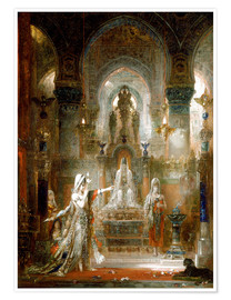 Premiumposter  Salome Dancing before Herod - Gustave Moreau