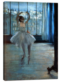 Canvastavla  Dancer in Front of a Window - Edgar Degas