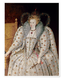 Premiumposter Queen Elizabeth I of England and Ireland