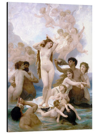 Aluminiumtavla  Venus födelse - William Adolphe Bouguereau