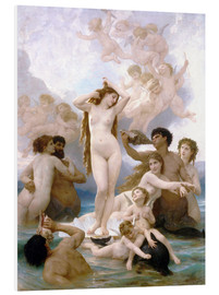 PVC-tavla  Venus födelse - William Adolphe Bouguereau