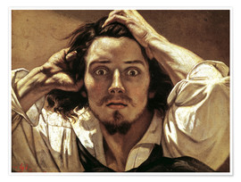 Premiumposter  The Desperate Man - Gustave Courbet