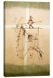 Canvastavla  Tightrope walker - Paul Klee