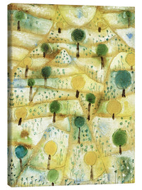 Canvastavla  Small Rhythmic Landscape - Paul Klee