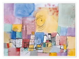 Poster  German city - Paul Klee