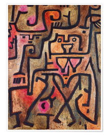 Premiumposter  Forest witches - Paul Klee