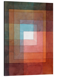 Aluminiumtavla  White framed polyphonically - Paul Klee