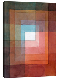 Canvastavla  White framed polyphonically - Paul Klee