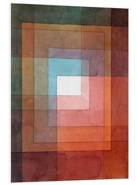 PVC-tavla  White framed polyphonically - Paul Klee