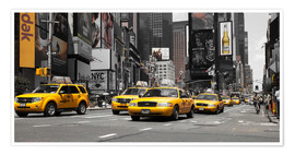 Premiumposter  New Yorks taxi - Hannes Cmarits