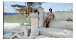 Canvastavla  The Voice of Spring. - Lawrence Alma-Tadema