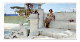 Premiumposter  The Voice of Spring. - Lawrence Alma-Tadema