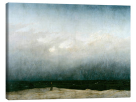 Canvastavla  Munken vid havet - Caspar David Friedrich