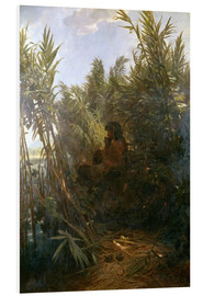 PVC-tavla  Pan in the reed - Arnold Böcklin