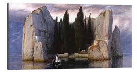 Aluminiumtavla  Island of the Dead - Arnold Böcklin