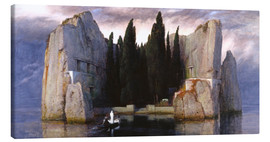 Canvastavla  Island of the Dead - Arnold Böcklin