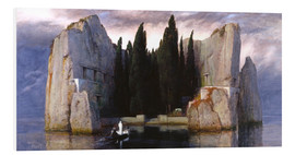 PVC-tavla  Island of the Dead - Arnold Böcklin