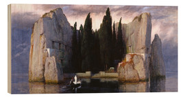 Trätavla  Island of the Dead - Arnold Böcklin