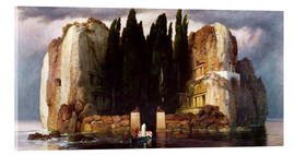 Akrylglastavla  The Isle of the Dead - Arnold Böcklin
