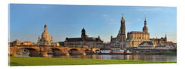 Akrylglastavla  Dresden Canaletto view - FineArt Panorama
