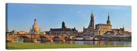 Canvastavla  Dresden Canaletto view - FineArt Panorama
