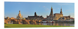 PVC-tavla  Dresden Canaletto view - FineArt Panorama