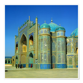 Premiumposter  Ali mausoleum in Masar-e-Sharif - Ric Ergenbright