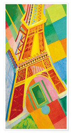 Premiumposter  Eiffel Tower - Robert Delaunay
