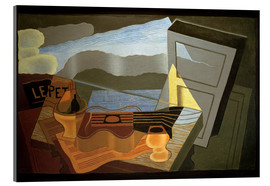 Akrylglastavla  View of the Bay - Juan Gris