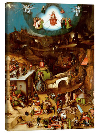 Canvastavla  The Last Judgement - Hieronymus Bosch