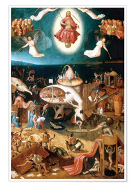 Premiumposter  The Last Judgement - Hieronymus Bosch