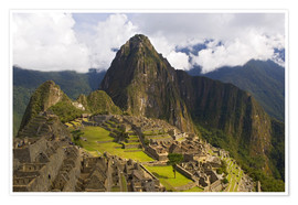 Premiumposter  Machu Picchu in the mountains - Dennis Kirkland