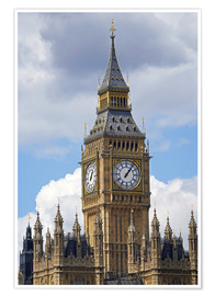 Premiumposter  Big Ben and Westminster Palace - David Wall