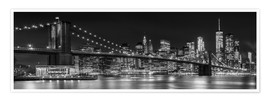 Premiumposter  New York City Skyline - Melanie Viola