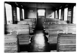 Akrylglastavla  Old train compartment - Falko Follert