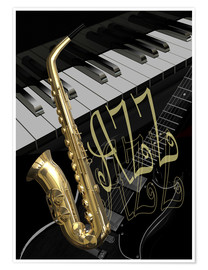 Premiumposter jazz