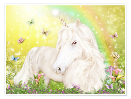 Premiumposter Unicorn of Happiness
