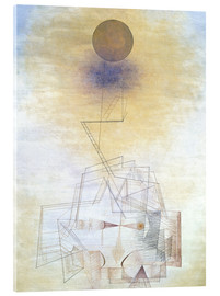 Akrylglastavla  Bounds of the intellect - Paul Klee