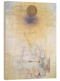Trätavla  Bounds of the intellect - Paul Klee