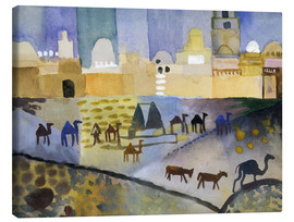 Canvastavla  Kairouan I - August Macke