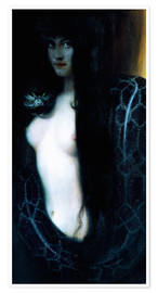 Premiumposter  The Sin - Franz von Stuck