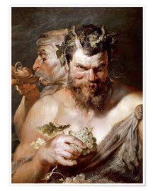 Premiumposter  Two Satyrs - Peter Paul Rubens
