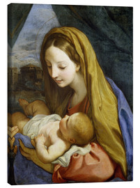 Canvastavla  Madonna and Child - Carlo Maratta
