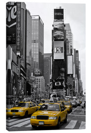 Canvastavla  NEW YORK CITY Times Square - Melanie Viola
