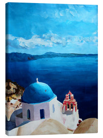 Canvastavla  Santorini - View from Oia - M. Bleichner