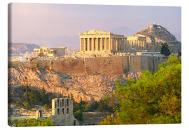 Canvastavla  Akropolis, Athens, Greece - Jan Schuler