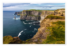 Premiumposter  Irland - Cliffs of Moher - Jürgen Klust