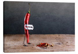 Canvastavla  Simple Things - Sharp Chili Pepper - Nailia Schwarz