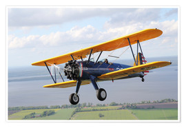 Premiumposter Boeing Stearman Model 75 Kaydet